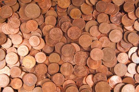 debt collection: euro coin money. Coins background. euro coins. cent coins. euro cents
