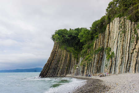 natural landmark: Rock Kiseleva, natural landmark, Tuapse, Russia