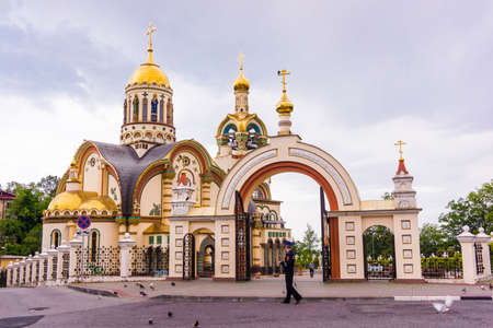 Sochi, Russia - MAY 14, 2016: SSt. Prince Vladimir Cathedral in Sochi, Russia