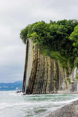 Rock Kiseleva, natural landmark, Tuapse, Russia