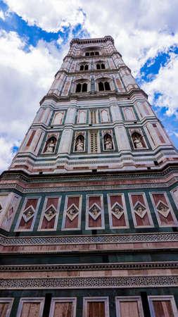 santa maria del fiore: The Basilica di Santa Maria del Fiore  in Florence, Italy Stock Photo