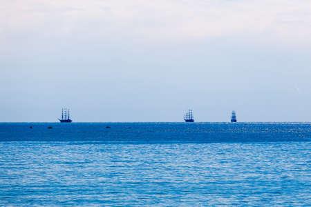 pirate crew: sailing ships.  ships and yachts