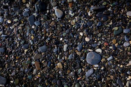 gravel: Sea stones background. beach pebbles. stones on beach