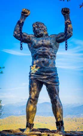 Image result for sochi prometheus statue
