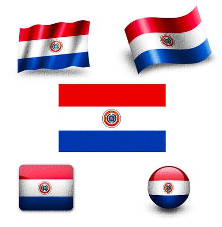 bandera de paraguay: bandera de Paraguay