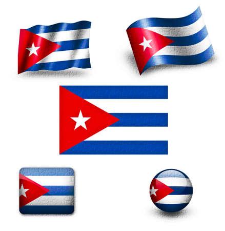 bandera cuba: cuba flag