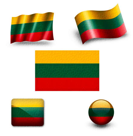 lithuania: lithuania flag