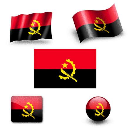 angola: angola flag