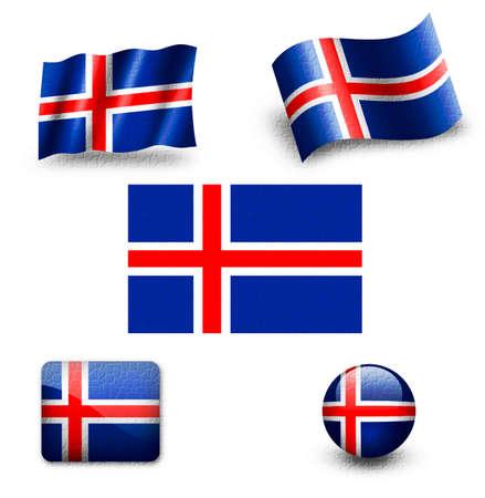 norway flag: norway flag Stock Photo