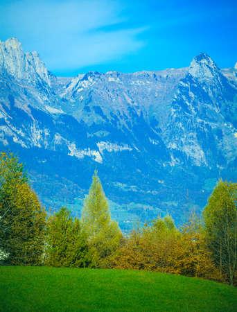 mountaintop: Summer landscape in mountains. mountain panorama