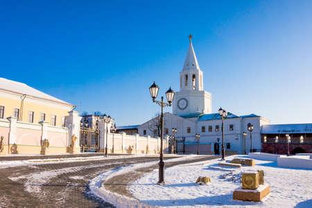 siervo: Kazan Kremlin. Republic of Tatarstan, of a Russian Federation Foto de archivo
