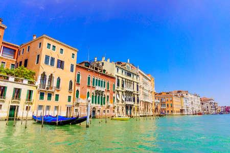 Grand Canal in Venice, Italy. Venice landmark