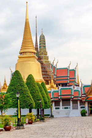 Temple of the Emerald Buddha, Thailand Stock Photo