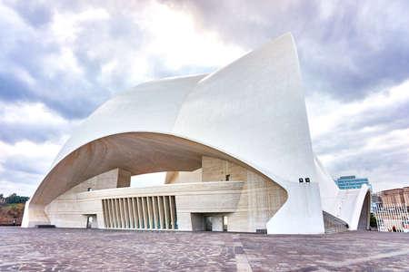 Santa Cruz de Tenerife,Spain-January 2017:Santa Cruz de Tenerife,Auditorio