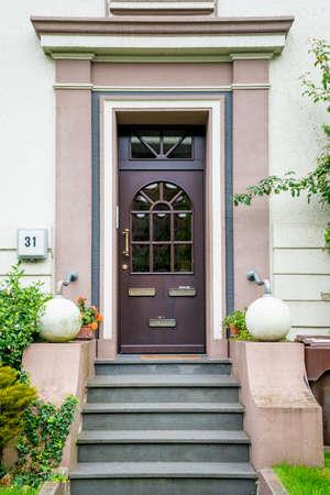 front door. Woods Door