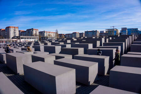 Jewish Holocaust Memorial in Berlin