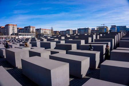 Jewish Holocaust Memorial in Berlin