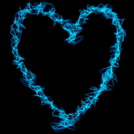 Happy Valentines Day.  neon heart sign