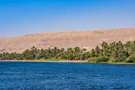 River Nile in Egypt. Life on the River Nile Reklamní fotografie