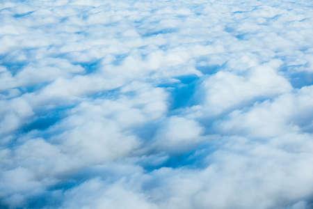 Blue sky and clouds. Cloudscape
