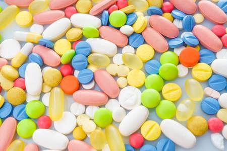 Different medicines. medications drugs