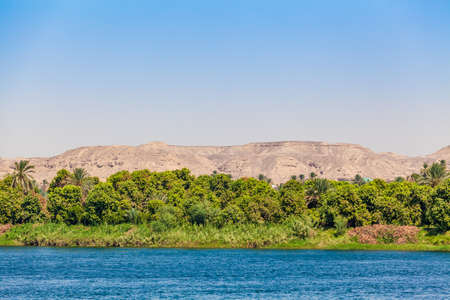 Leben am Nil in Ägypten