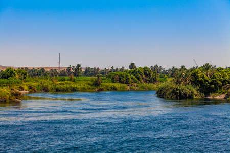 River Nile in Egypt Banco de Imagens