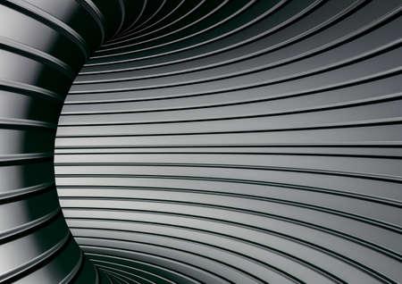 Striped steel texture metal