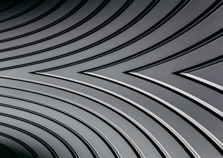 3d Aluminum abstract silver metal background 写真素材