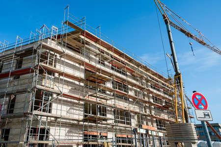 building construction. big building construction