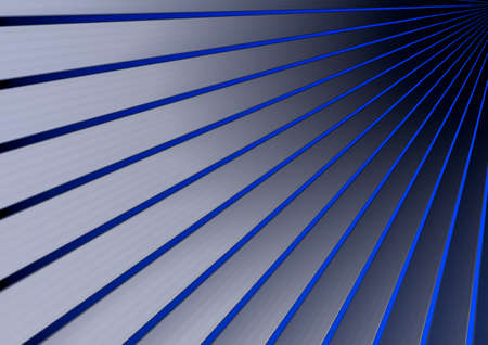 Abstract textured blue polygonal background