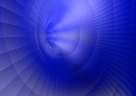 Abstract blue wave background. 3D illustration.
