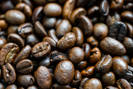 Coffee Beans. Toasted coffe beans texture