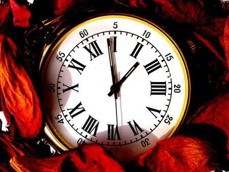 dialplate: time       Stock Photo