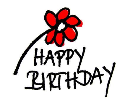 gratulation: happy birthday