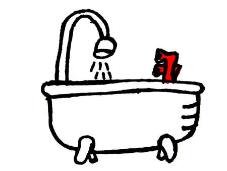 hot tub: bathtub