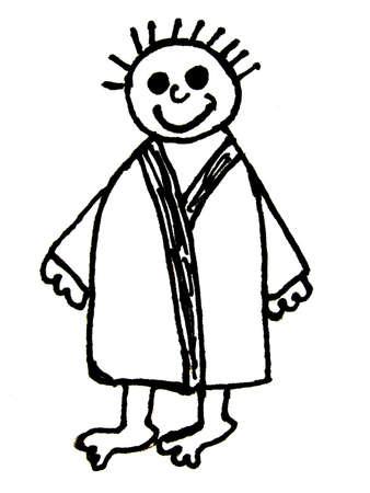 bathrobe: bathrobe