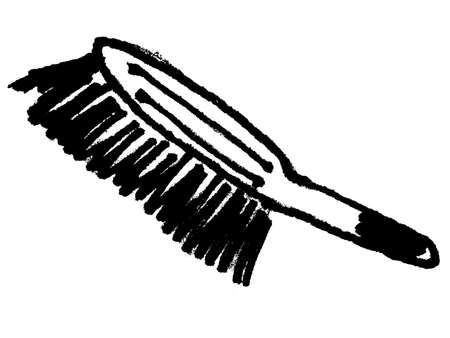 besom: brush Stock Photo