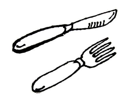manners: silverware