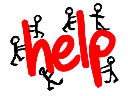 help Stock Photo - 3947169