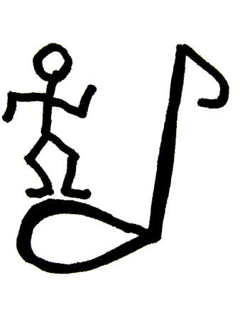 melodies: dancer   Stock Photo