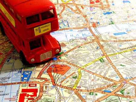 busses: london Stock Photo