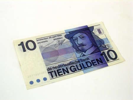 papermoney: netherlands Stock Photo