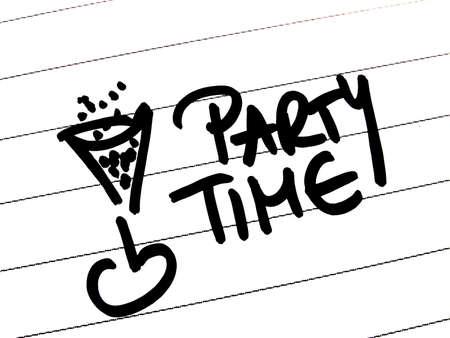 party time: partie du temps