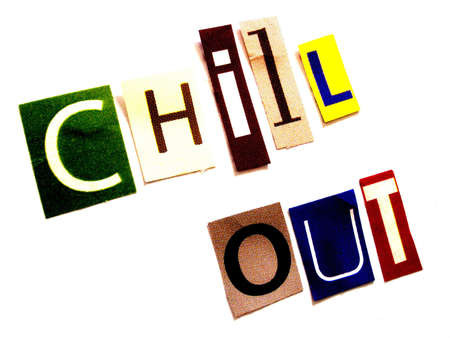 chill out: chill out   Stock Photo