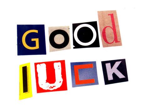 good luck: good luck