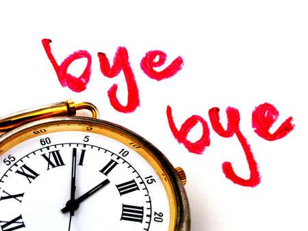 despedida: bye bye