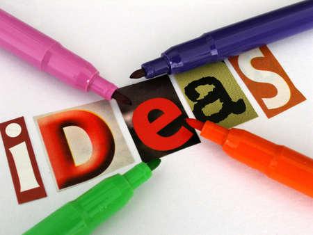 ideas        Stock fotó