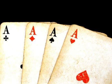 skat: gambling cards Stock Photo