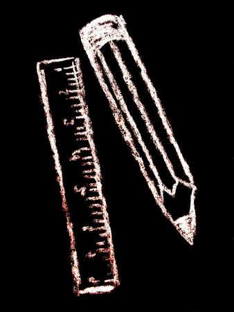 numeracy: instruments    Stock Photo